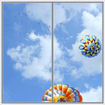 dalle de plafond cumulux Balloon Birds Wide 2