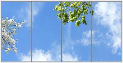 plaque led plafond cumulux Bondi Wide 4