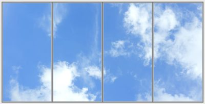 dalles de plafond cumulux Capri Wide 4