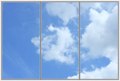 dalle de plafond Cumulus Wide 3 B