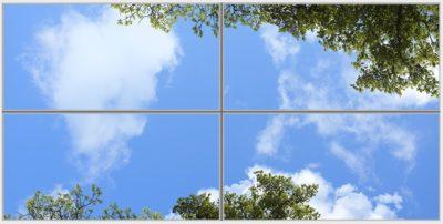 Dalles de plafond Laurel Wide 4 Horizontal