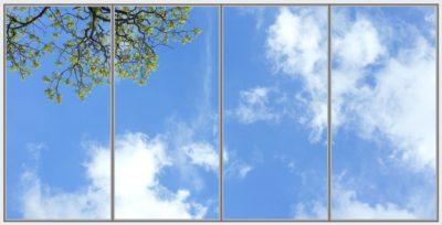 plafond led Nila Capri Wide 4