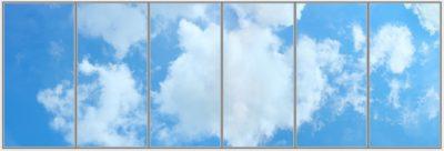 panneau led plafond cumulux - Cumulus Strato Wide 6