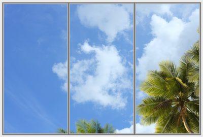 Plafond led cumulus Cela Wide 3