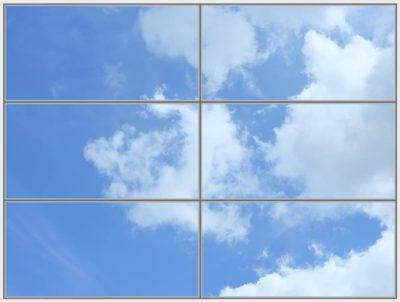 dalle plafond Cumulus WIDE 6