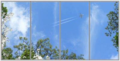 dalles de plafond cumulux Fernet Plane Wide 4