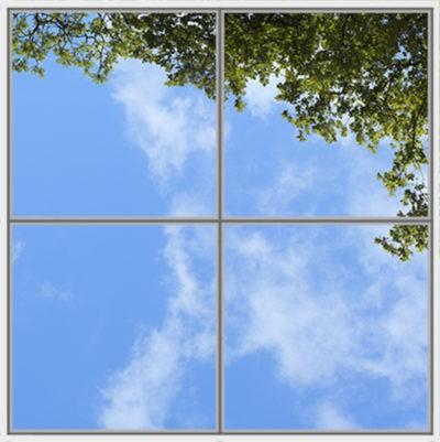 image de ciel pour pour plafond cumulux led arbre et feuilles