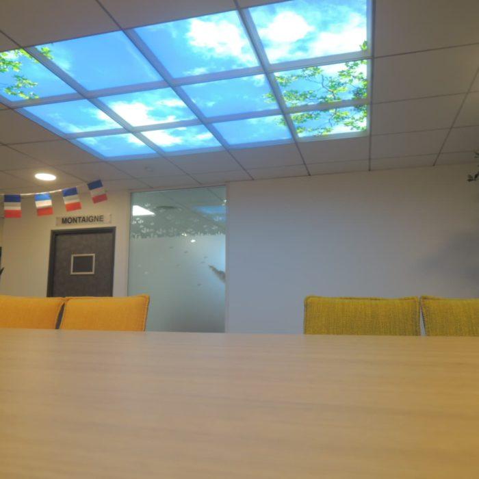 plafond lumineux led cumlux