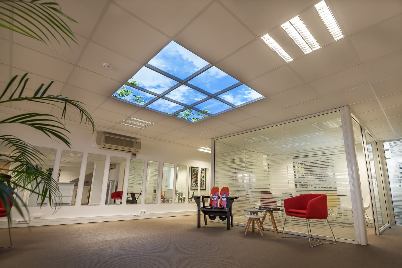 plafond lumineux led cumululx