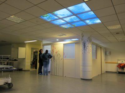 plafond eclairant cumulux