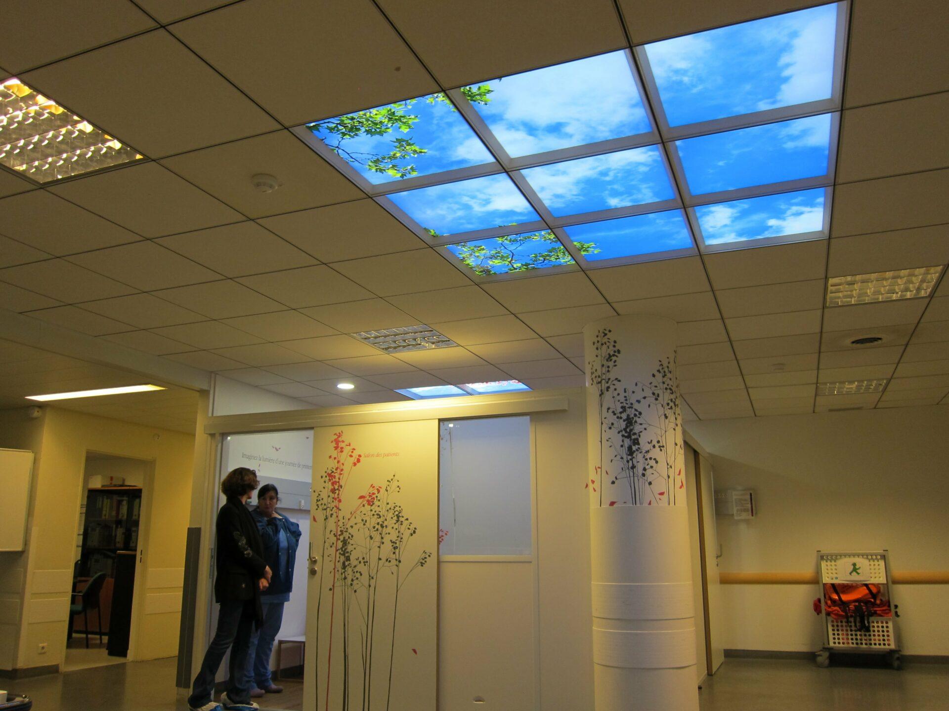 faux plafond led cumulux