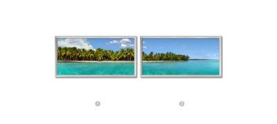 fenêtres lumineuse cumulux - paysage caraibes