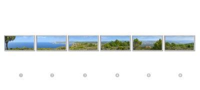 fausse fenêtre cumulux -paysage Route des crêtes (Cassis)