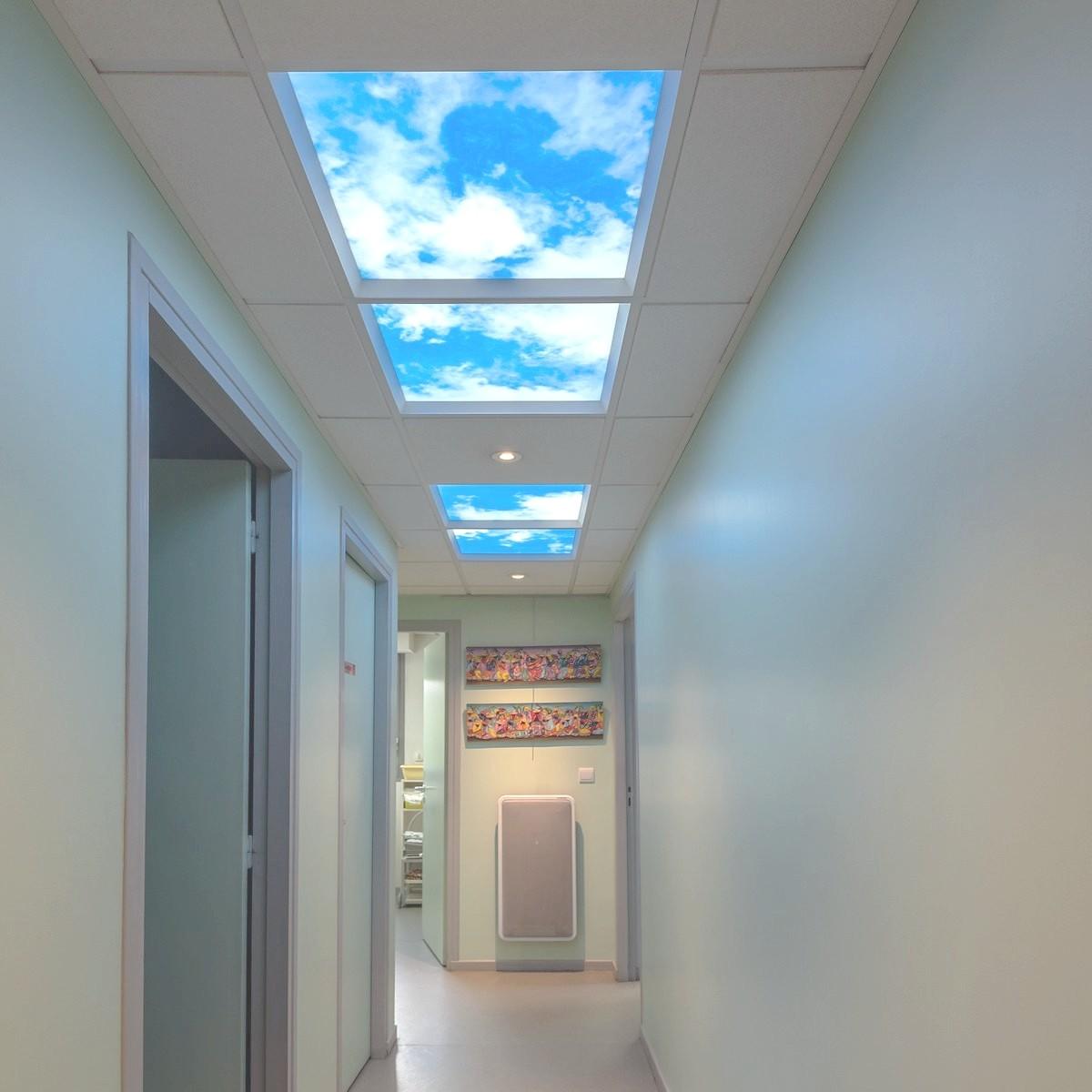 verrière artificielle lumière du ciel plafond lumineux