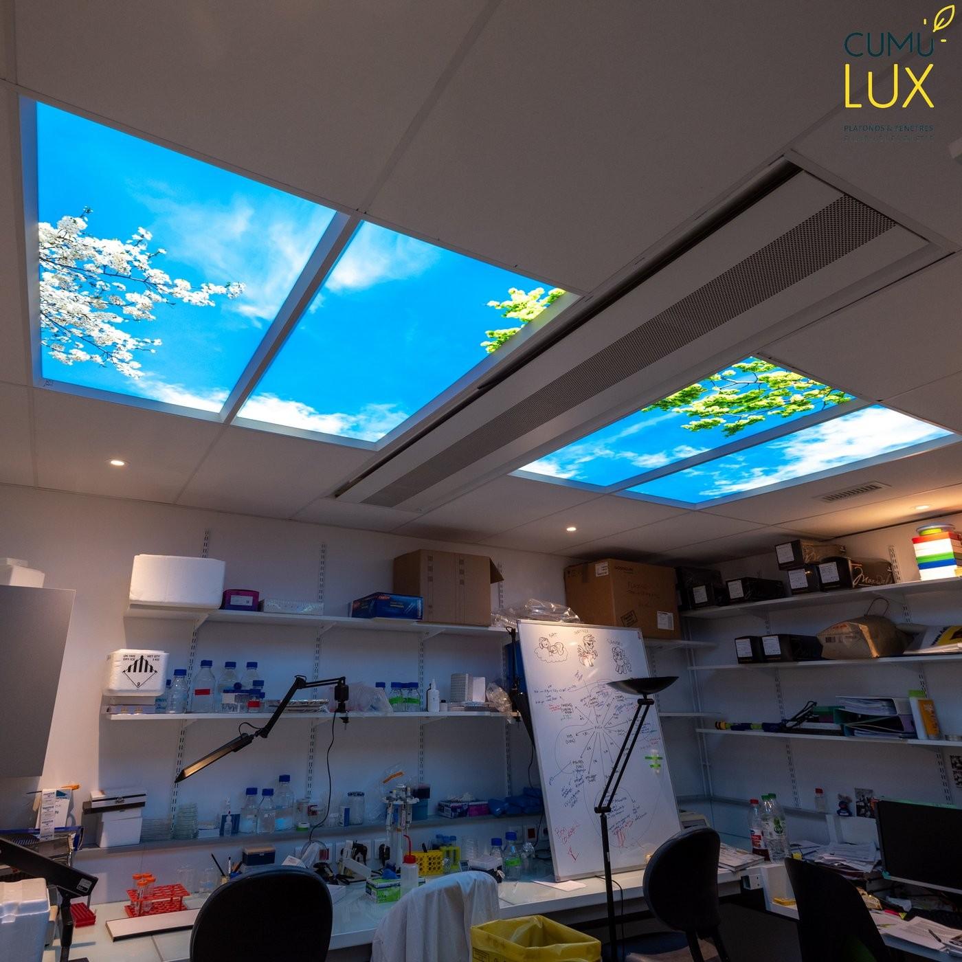 Plafond lumineux led