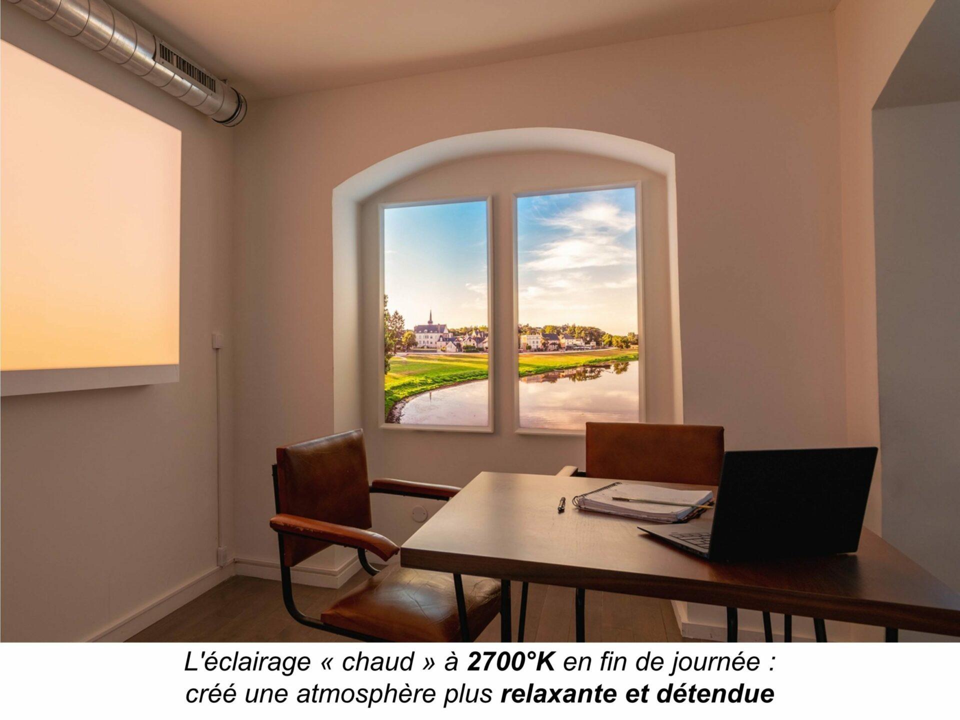 Eclairage Plafond A La Francaise cumulux evolution | innovation française pour l'éclairage de
