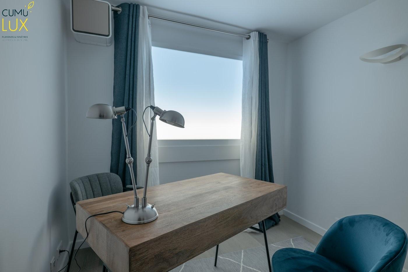 Big Sky Horizon pour créer un ciel dans une salle de consultation dépourvue de fenêtres.